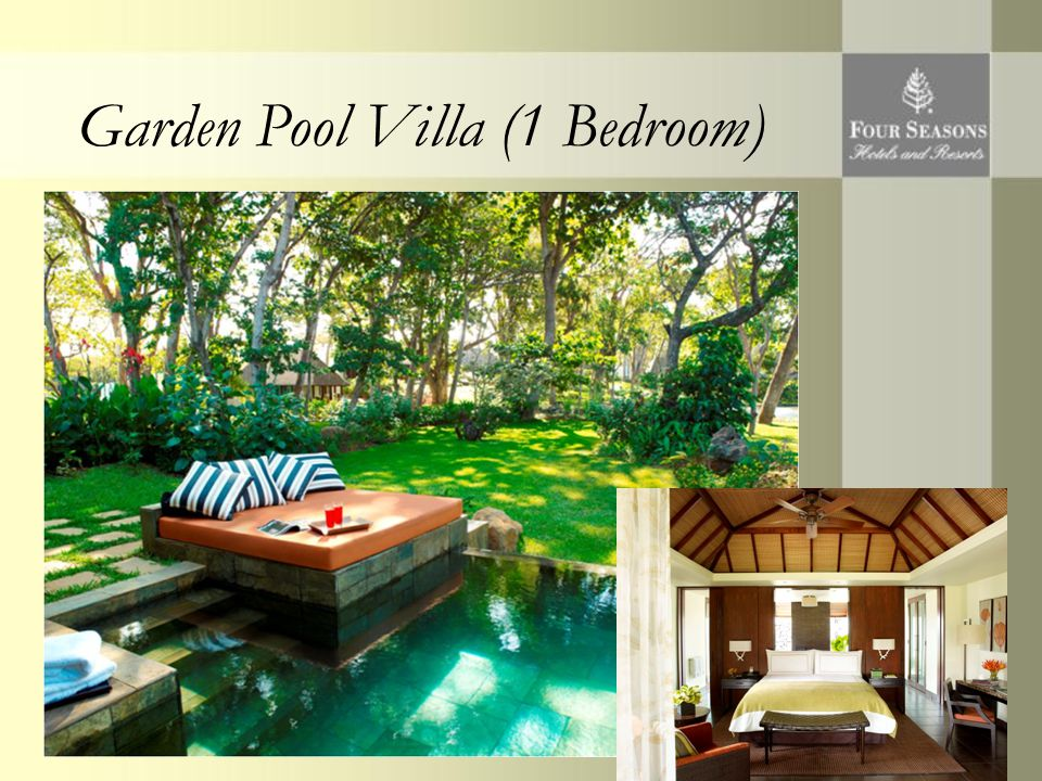 Garden Pool Villa (1 Bedroom)
