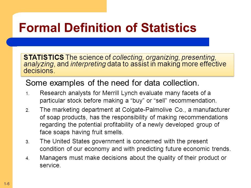 1-7 Who Uses Statistics.