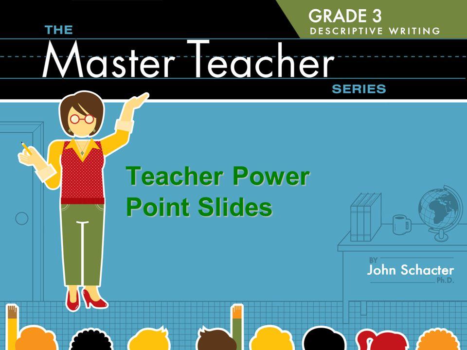 Teacher Power Point Slides
