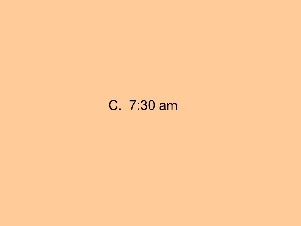 C. 7:30 am