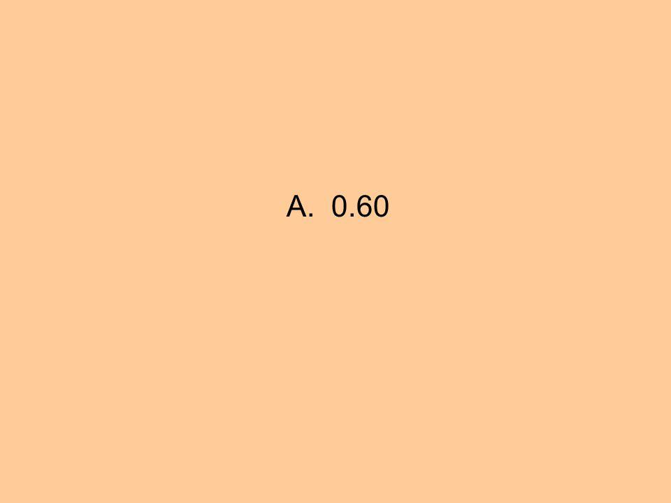 A. 0.60