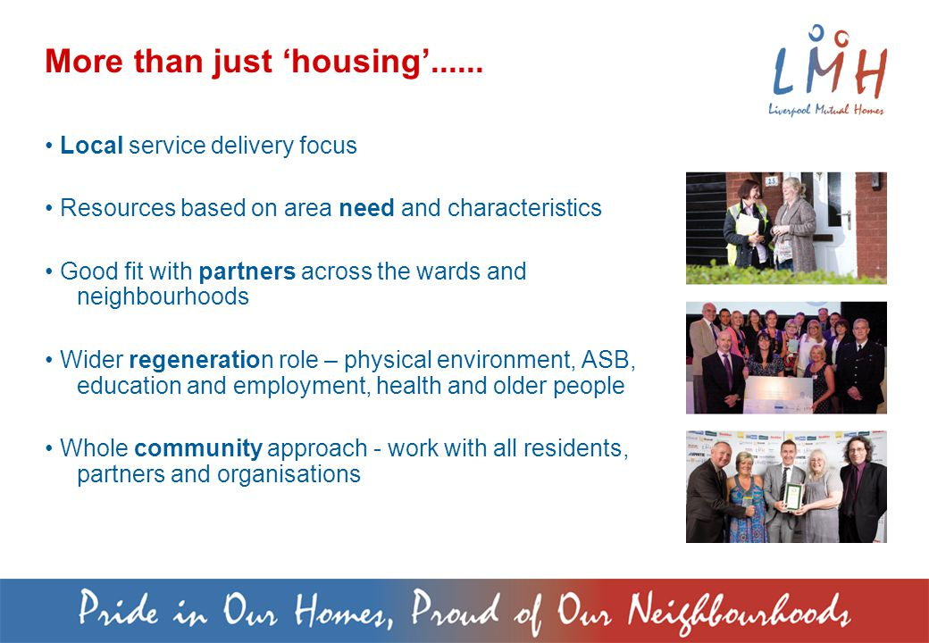 More than just 'housing'......