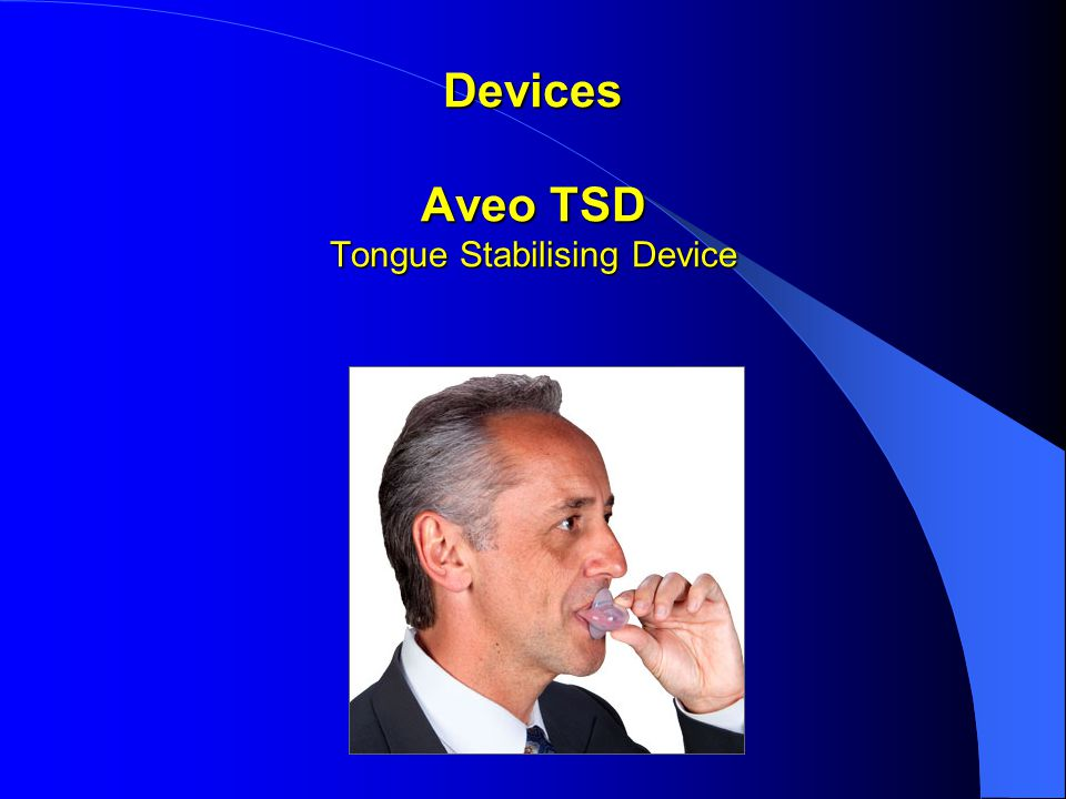 Devices Aveo TSD Tongue Stabilising Device