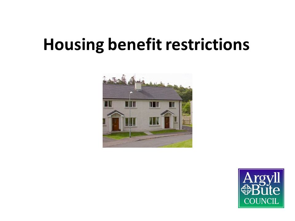 Housing benefit restrictions