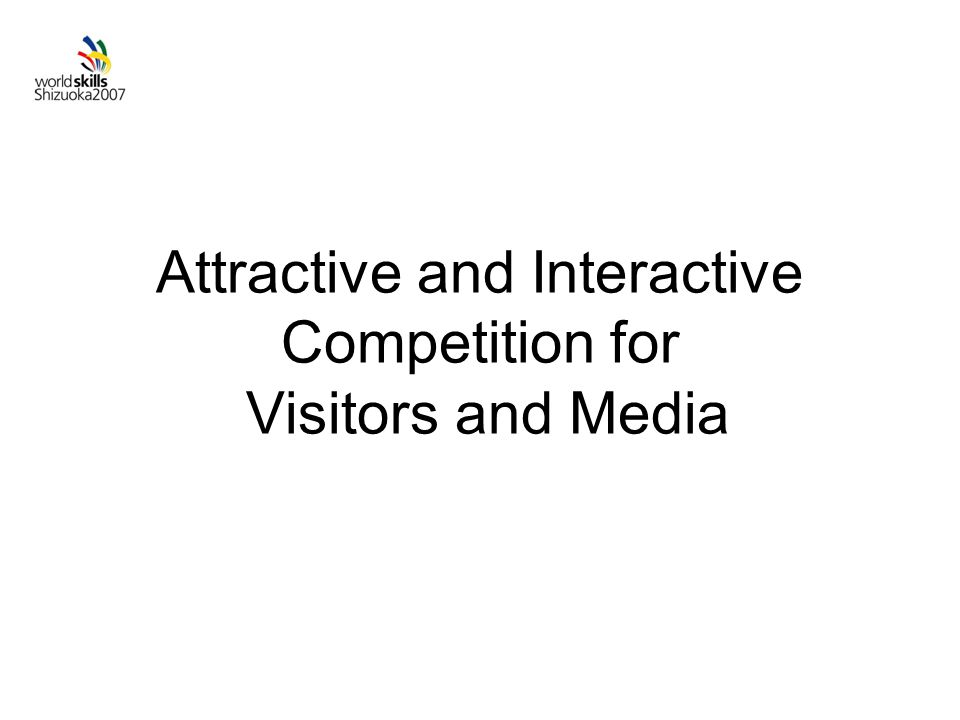 Attractive and Interactive Competition for Visitors and Media