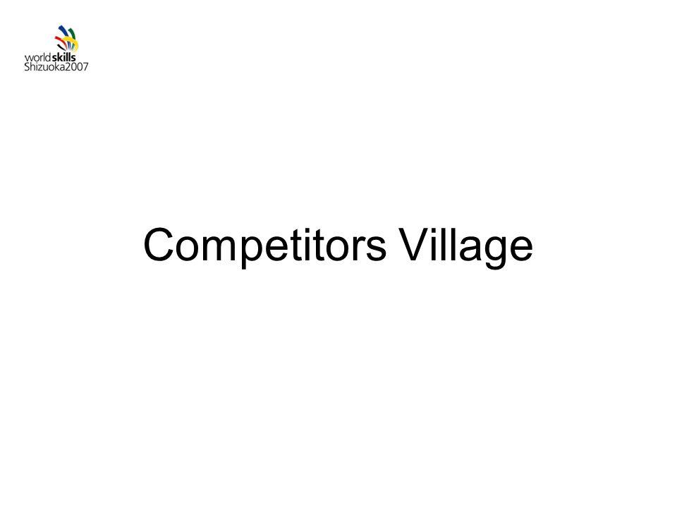 Competitors Village