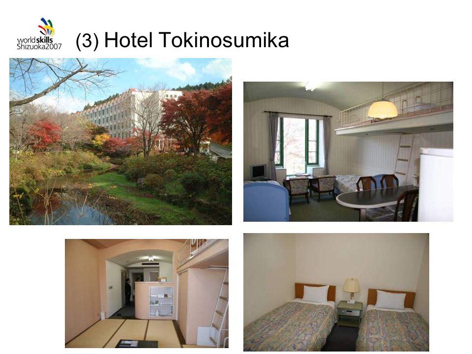 (3) Hotel Tokinosumika