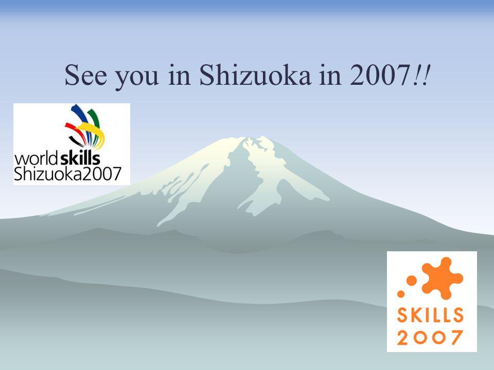 See you in Shizuoka in 2007!!