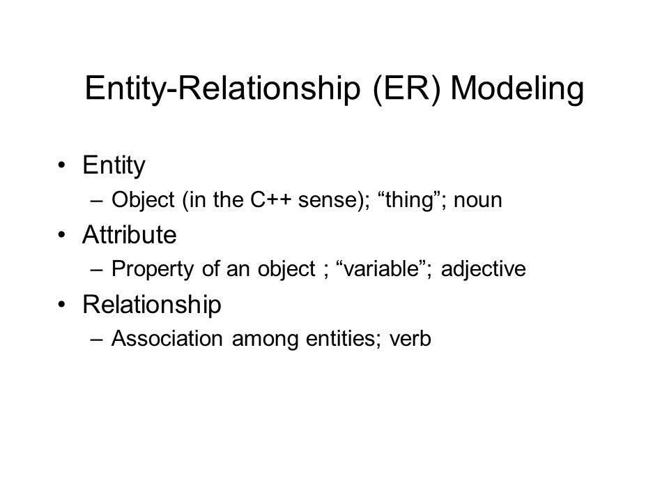 Relationship vs.