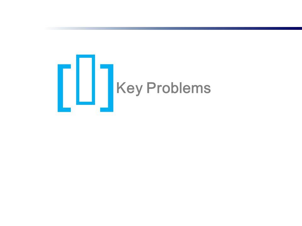 [I][I] Key Problems