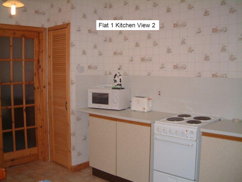 Flat 1 Kitchen View 2