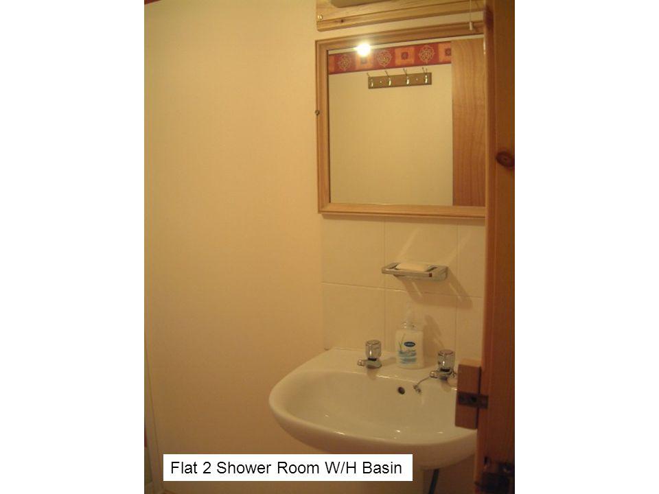 Flat 2 Shower Room W/H Basin
