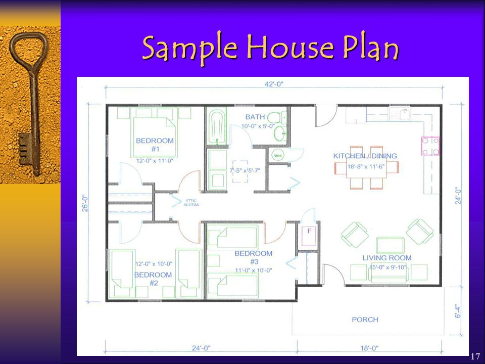 17 Sample House Plan