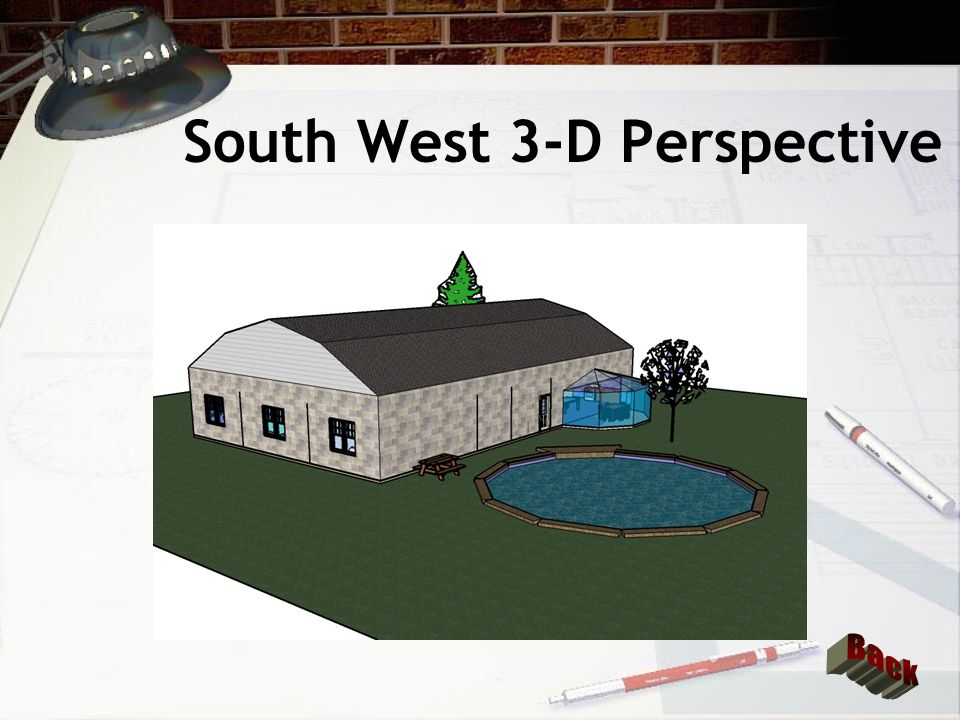 South East 3-D Perspective