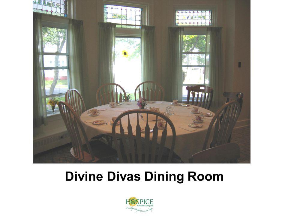 Divine Divas Dining Room