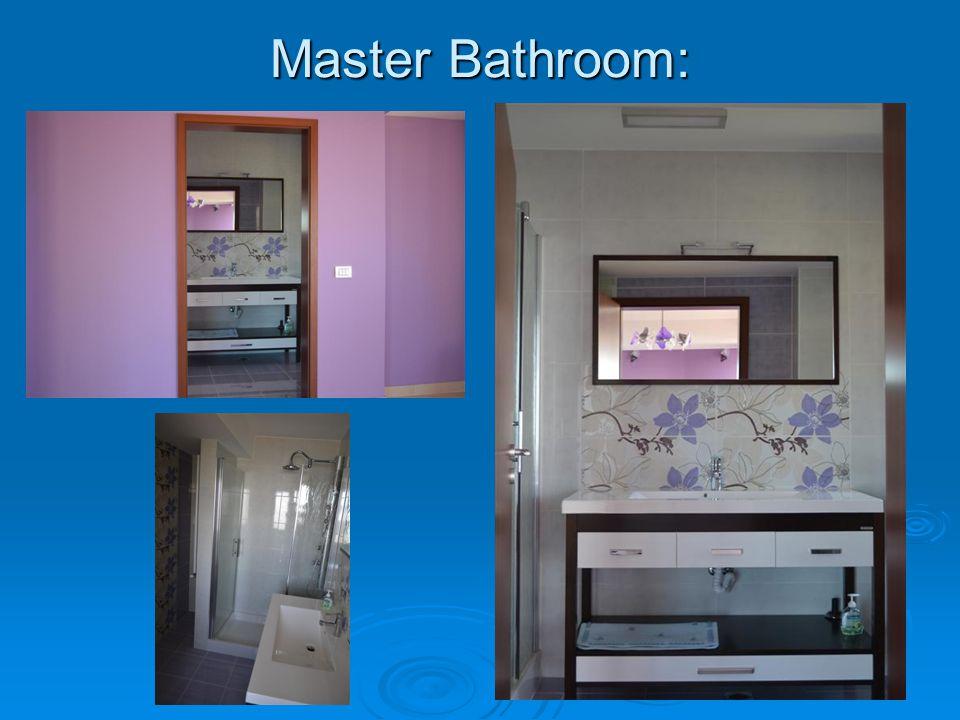Master Bathroom: