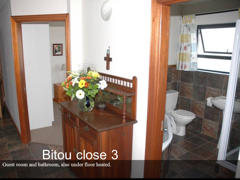 Guest room and bathroom, also under floor heated. Bitou close 3
