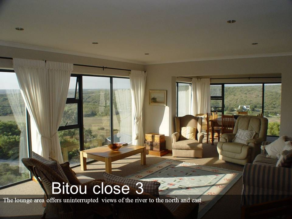 Guest room (3) with built in cupboards – west facing. Bitou close 3
