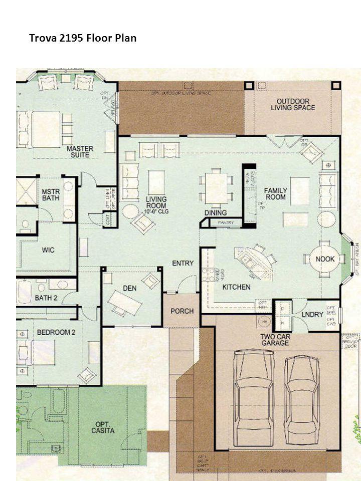 Trova 2195 Floor Plan