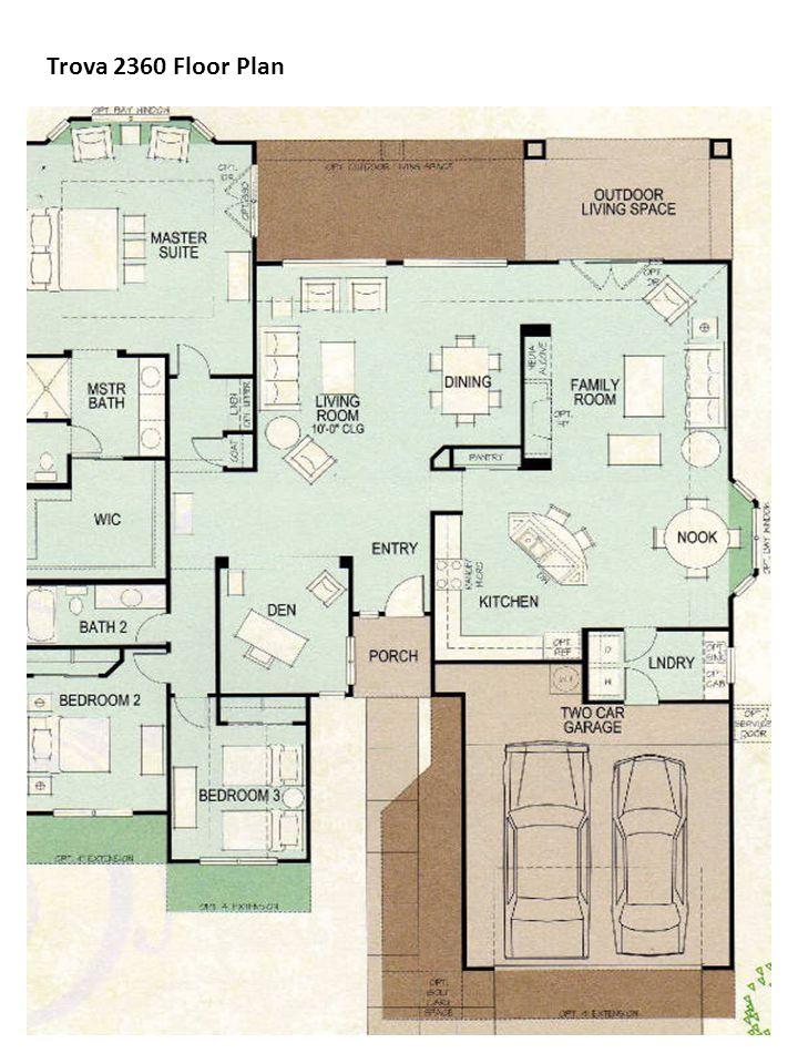 Trova 2360 Floor Plan