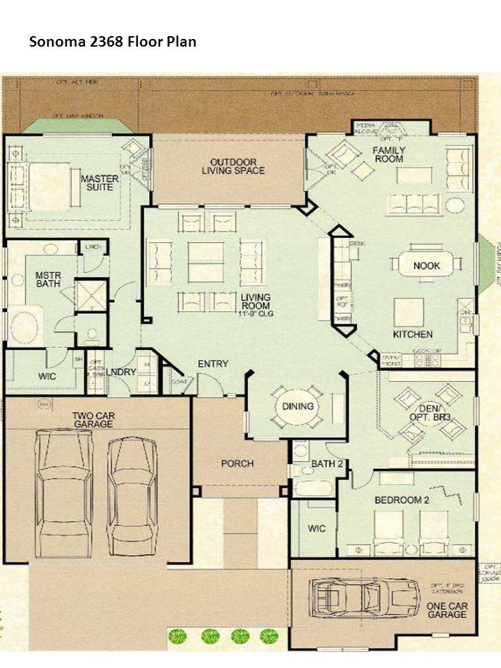 Sonoma 2368 Floor Plan