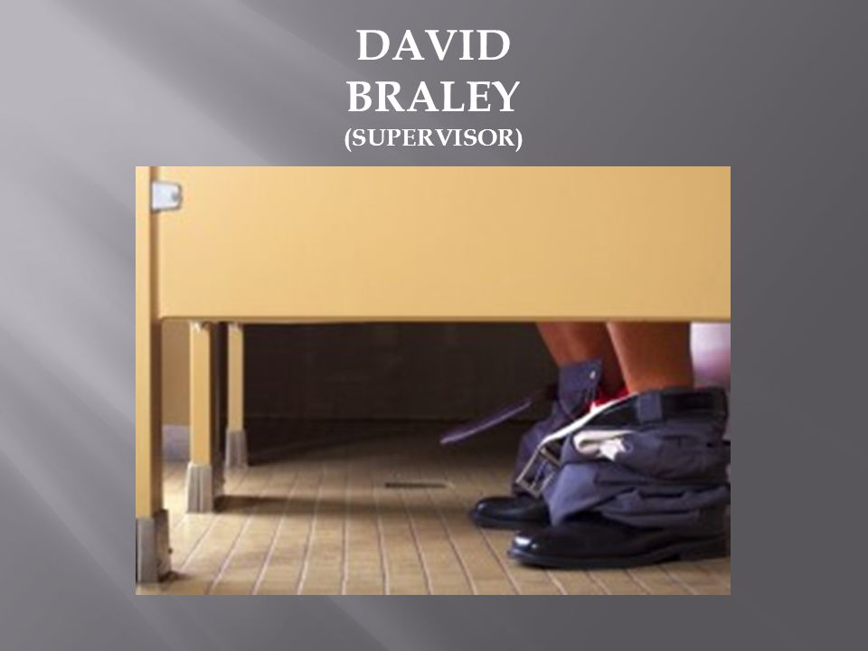 DAVID BRALEY (SUPERVISOR)