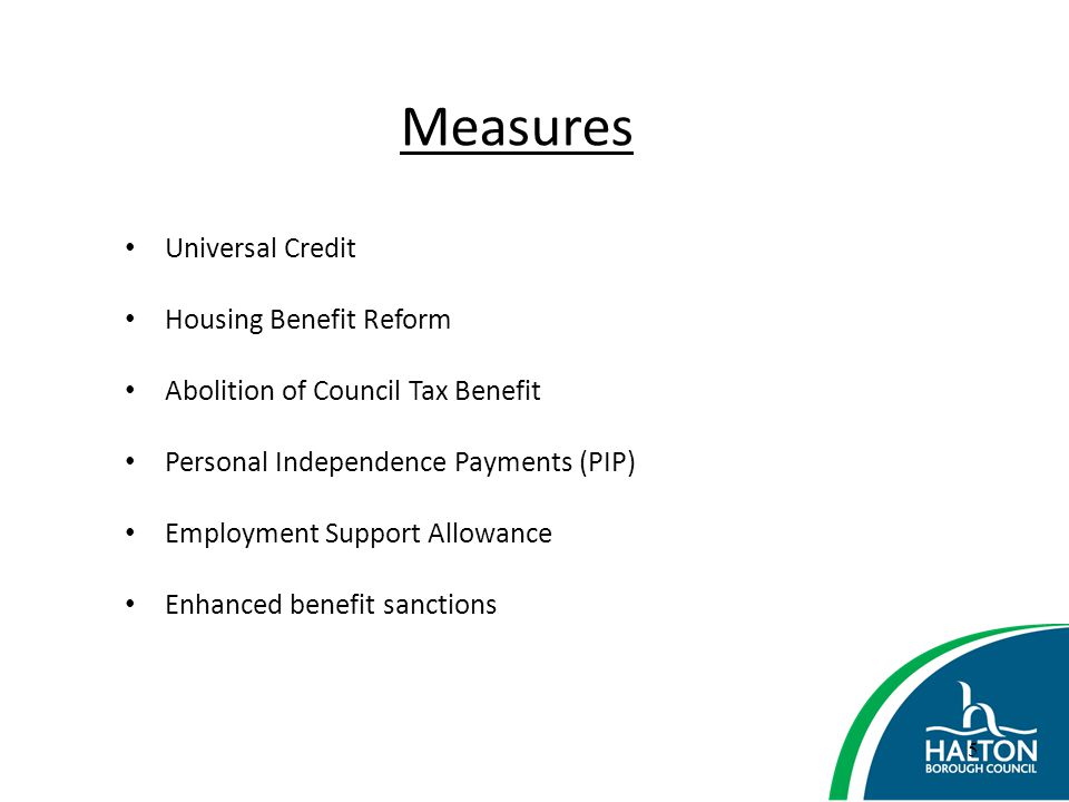 36 Final Message Impact on individuals - Social Fund/Bedroom Tax/ CTRS – which do I pay.