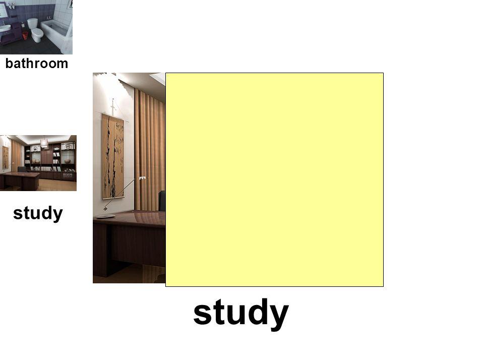 bedroom bathroom study bedroom