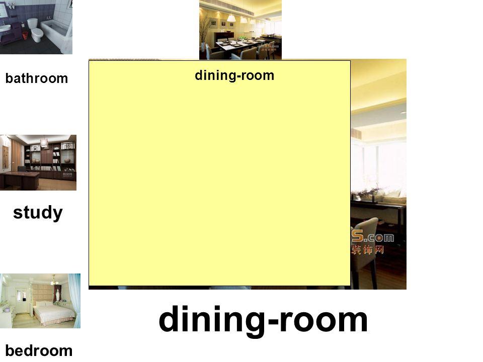 kitchen bathroom study bedroom dining-room kitchen
