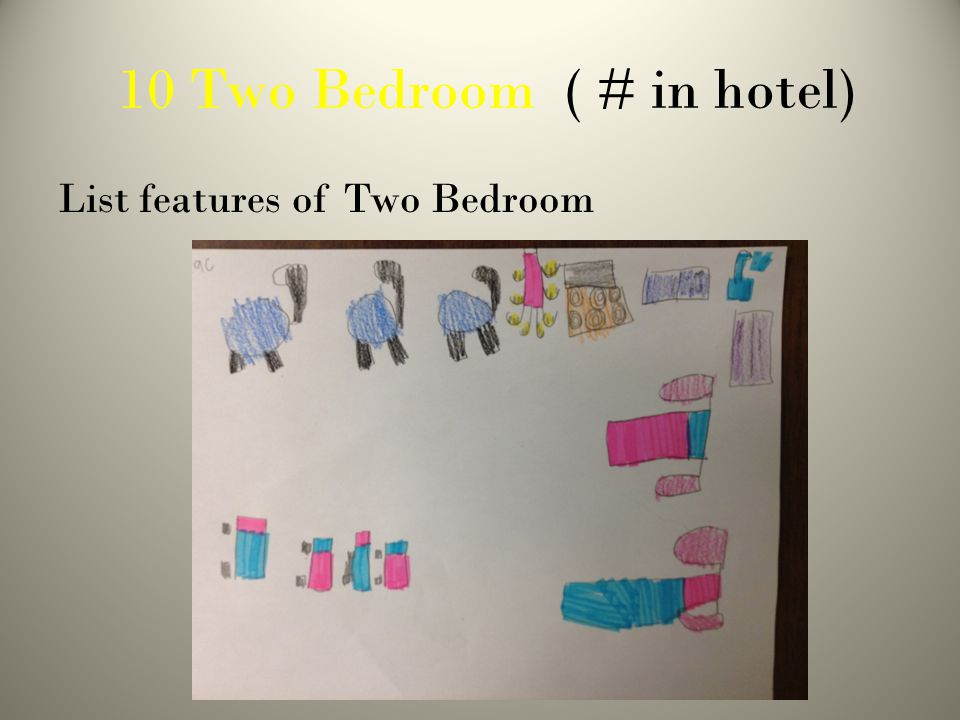 10 Two Bedroom ( # in hotel) List features of Two Bedroom