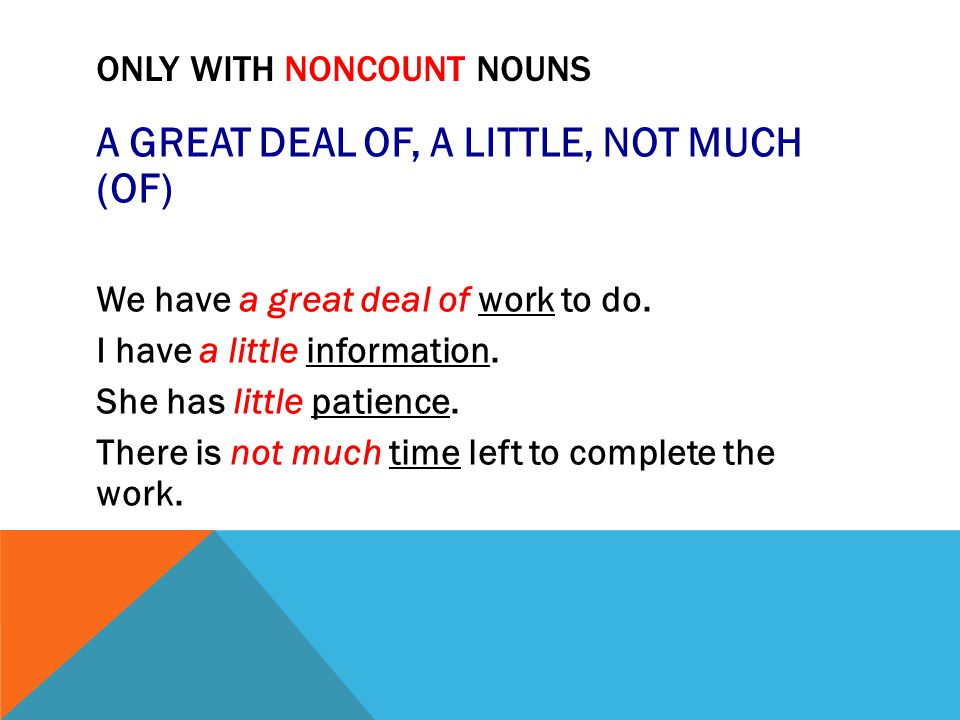 A FEW vs.FEW (COUNT NOUNS) Use a few to say there are some but not many.