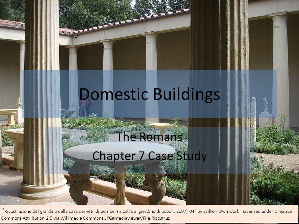 Domestic Buildings The Romans Chapter 7 Case Study Ricostruzione del giardino della casa dei vetii di pompei (mostra al giardino di boboli, 2007) 04 by sailko - Own work.