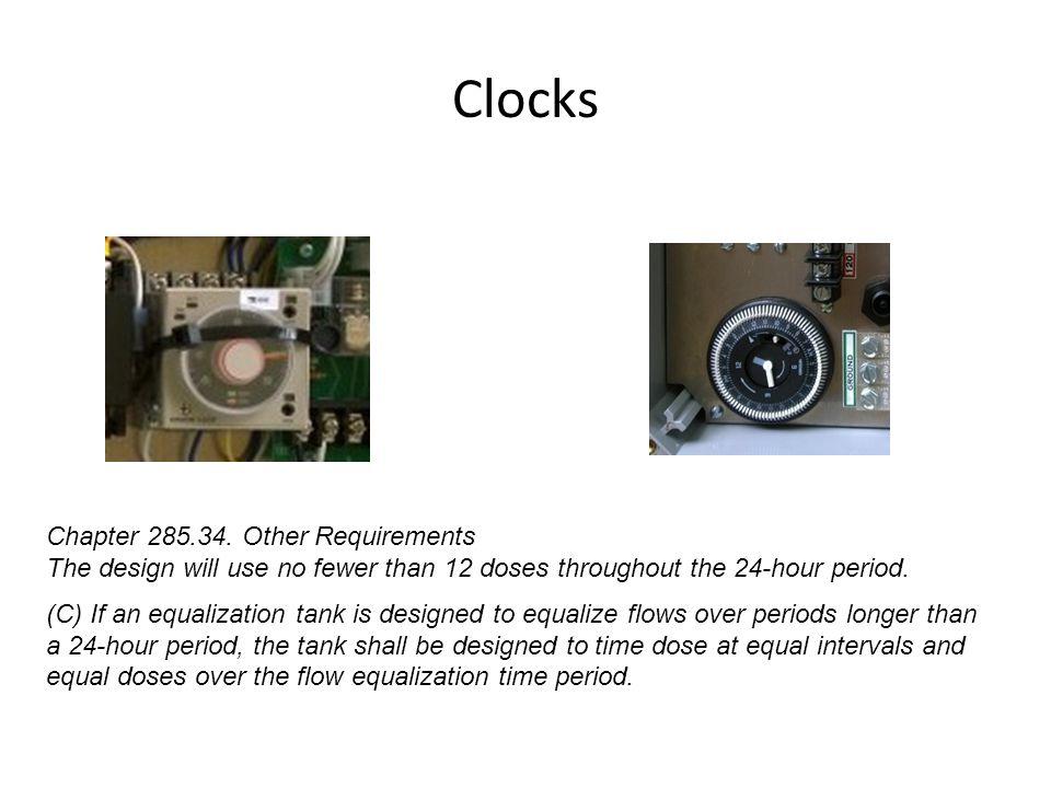 Clocks Chapter 285.34.