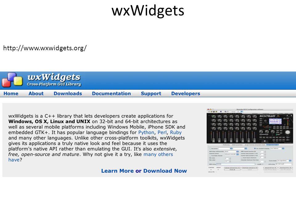 wxWidgets http://www.wxwidgets.org/