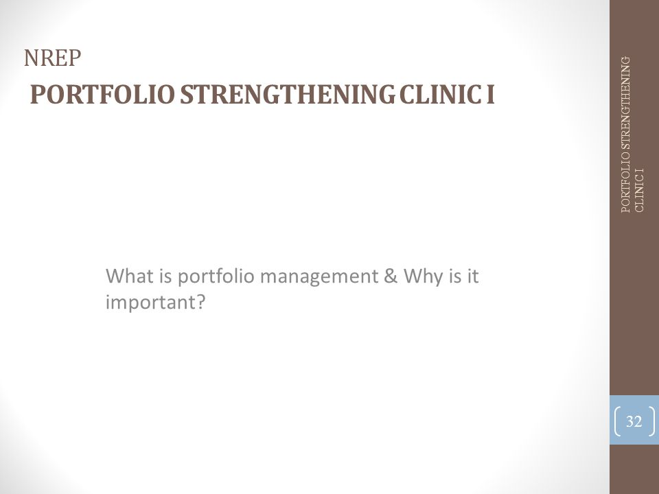 What is portfolio management & Why is it important.