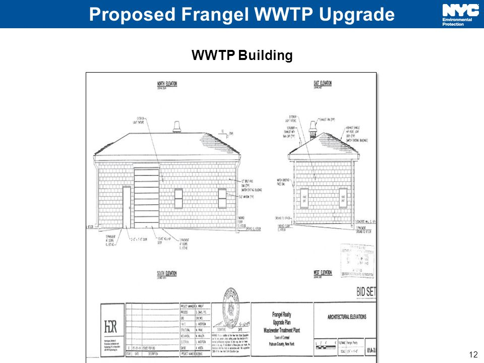 12 Proposed Frangel WWTP Upgrade WWTP Building