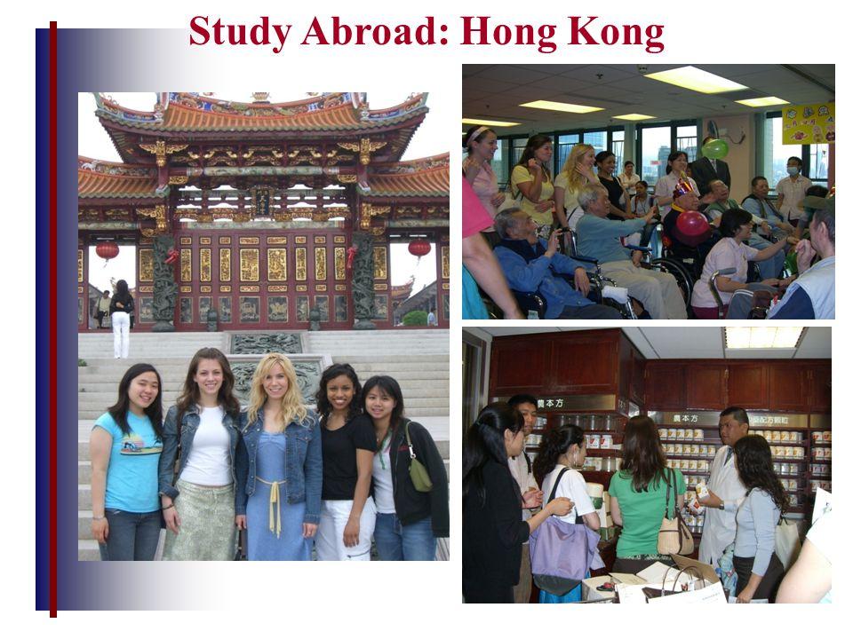 Study Abroad: Hong Kong