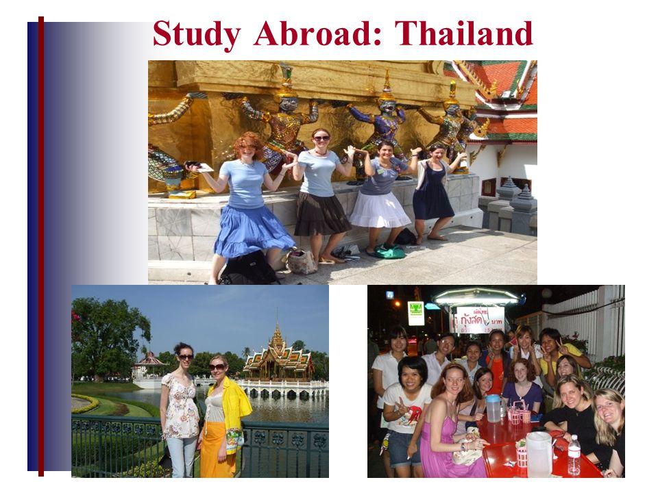 Study Abroad: Thailand