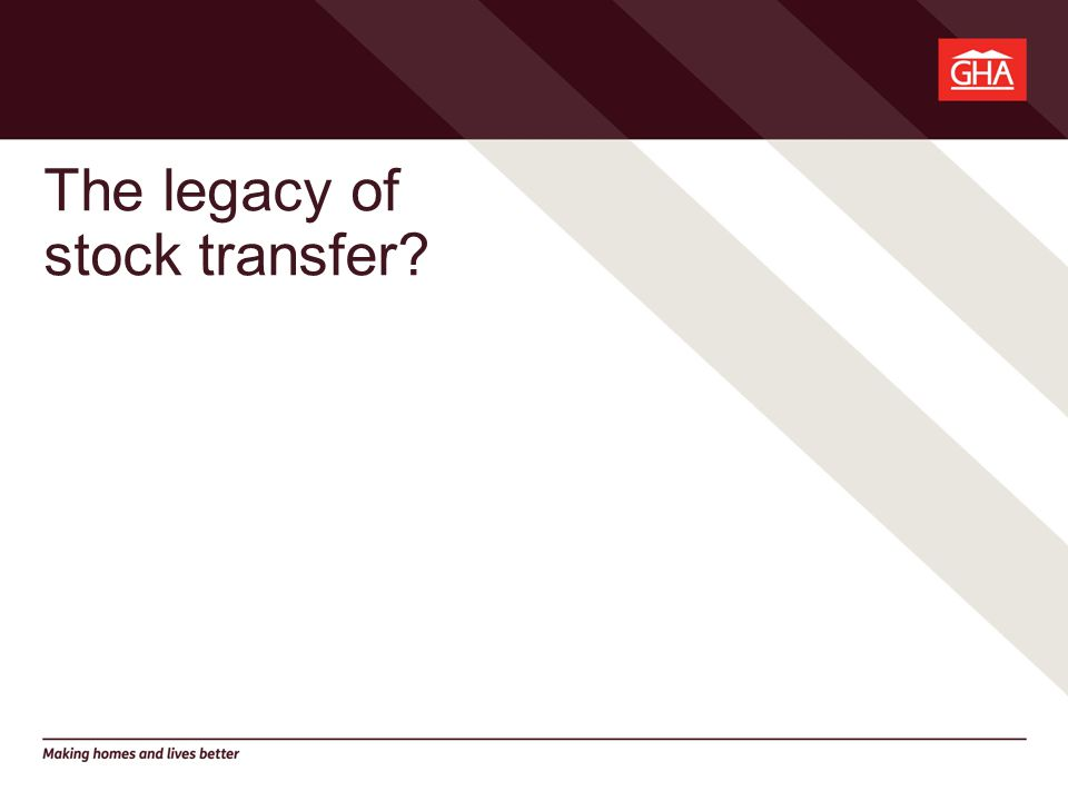 The legacy of stock transfer?