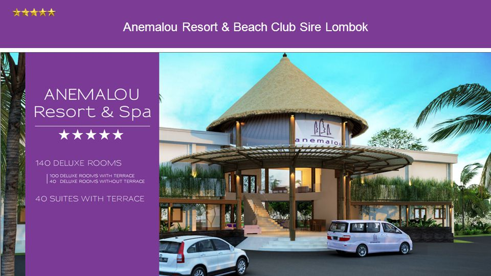Anemalou Resort & Beach Club Sire Lombok