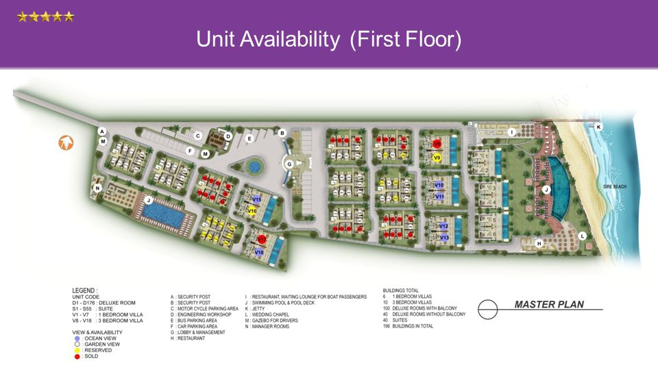 Unit Availability (First Floor)