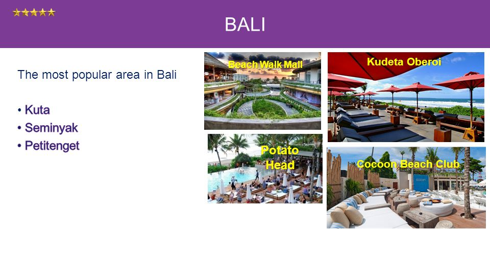 Kudeta OberoiKudeta Oberoi Beach Walk Mall Cocoon Beach ClubCocoon Beach Club BALI Potato Head