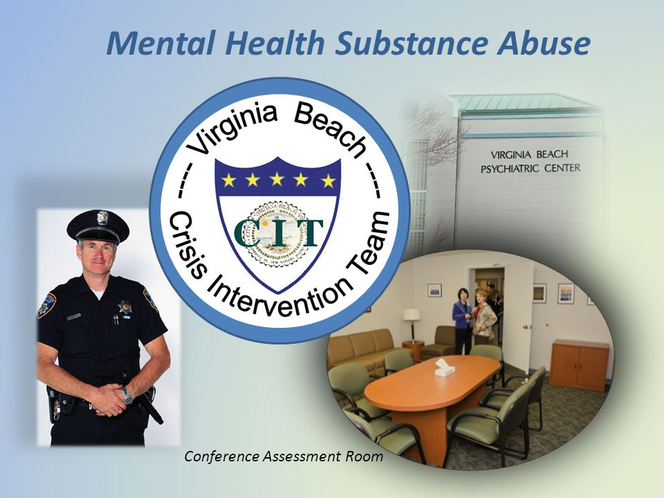Mental Health Substance Abuse Conference Assessment Room