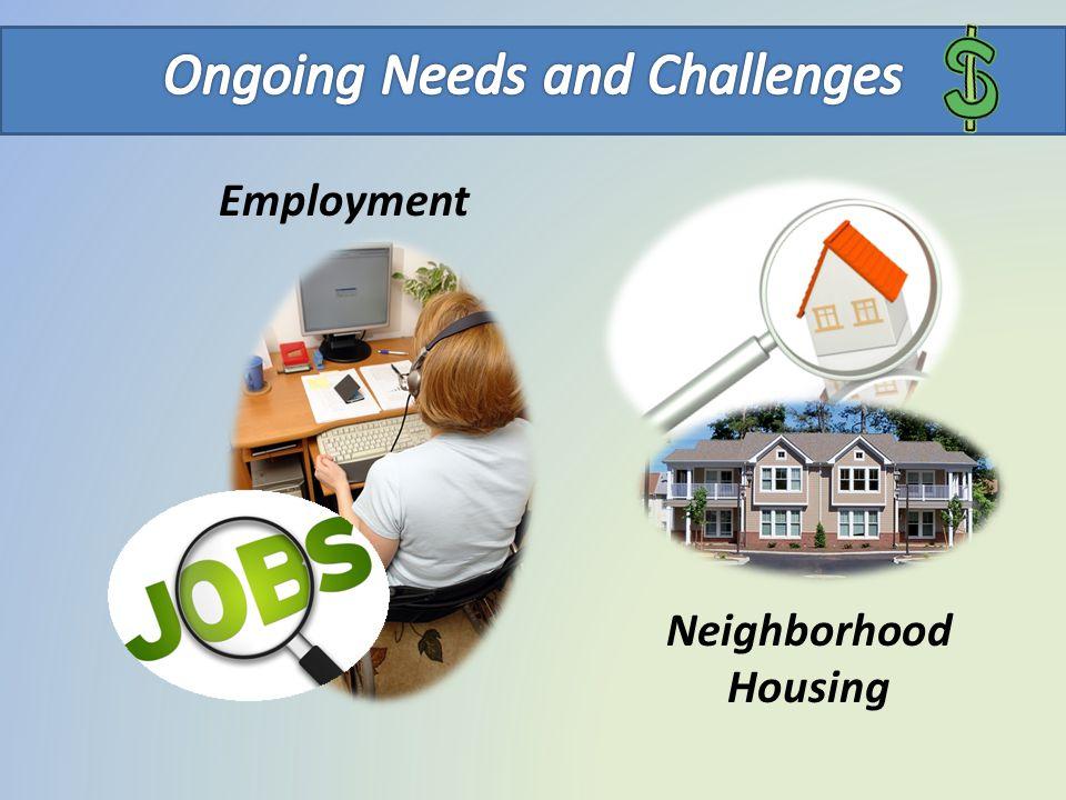 Employment Neighborhood Housing