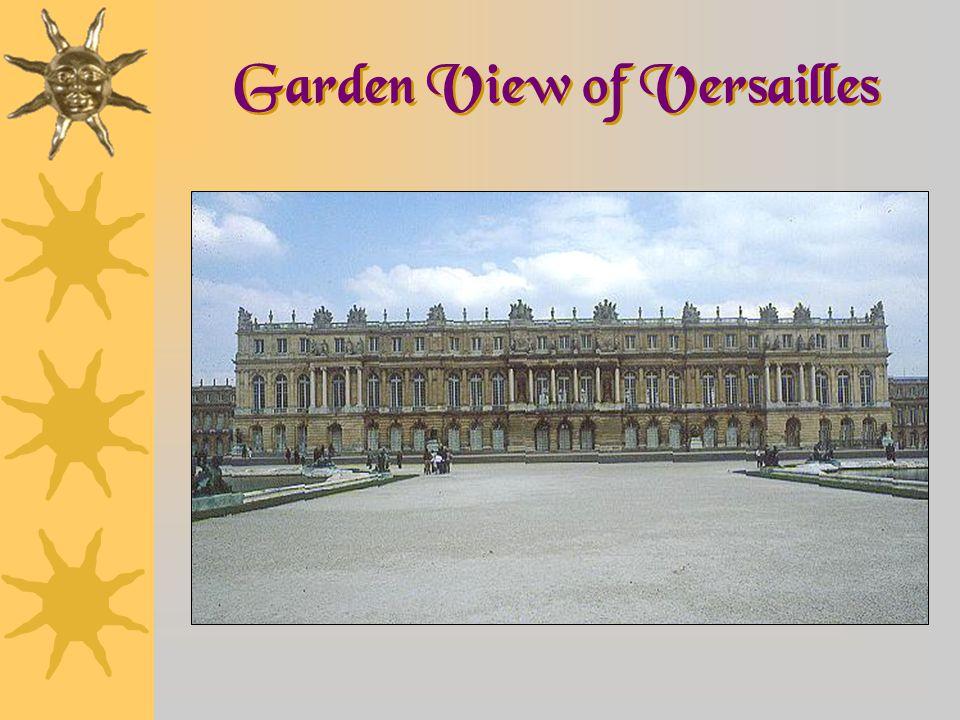 Garden View of Versailles