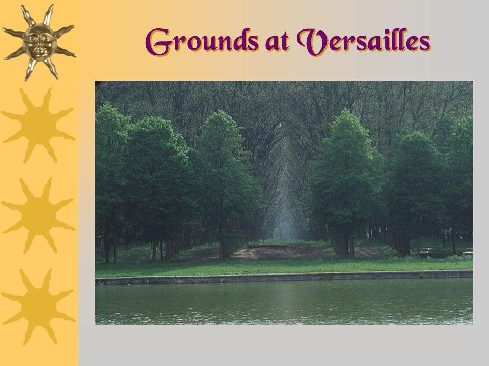 Grounds at Versailles