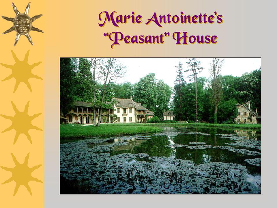 Marie Antoinette's Peasant House