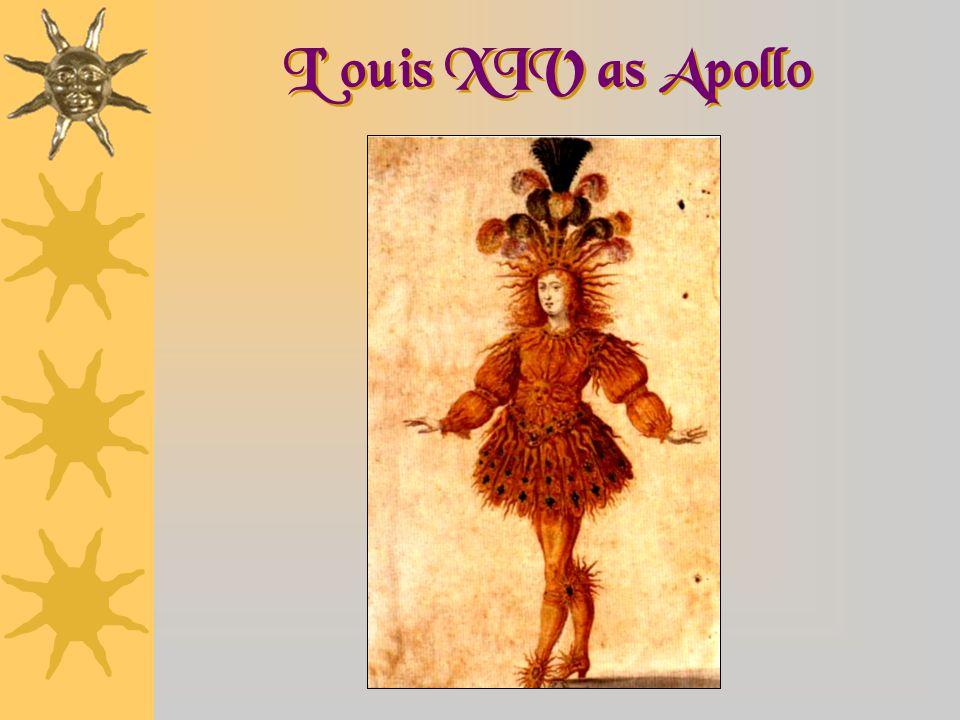L' ouis XIV as Apollo