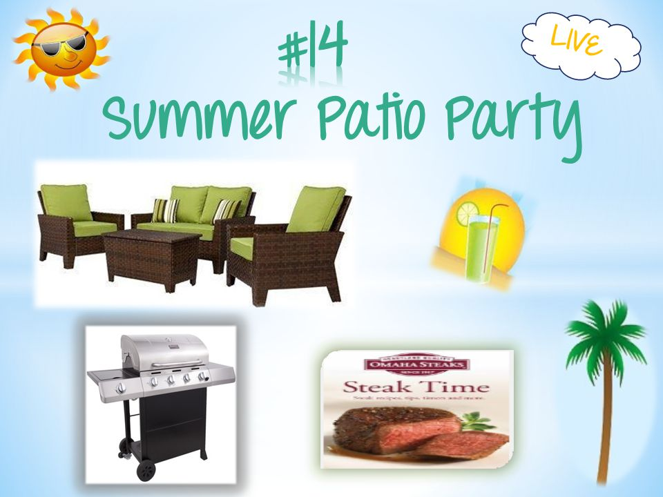 Summer Patio Party LIVE