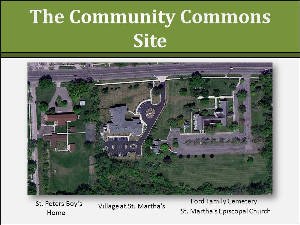 V The Community Commons Site Village at St. Martha's St.